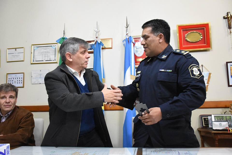 [Subdelegación de Drogas] Reconocimiento al Comisario Omar Valiente por su gestión en Chivilcoy