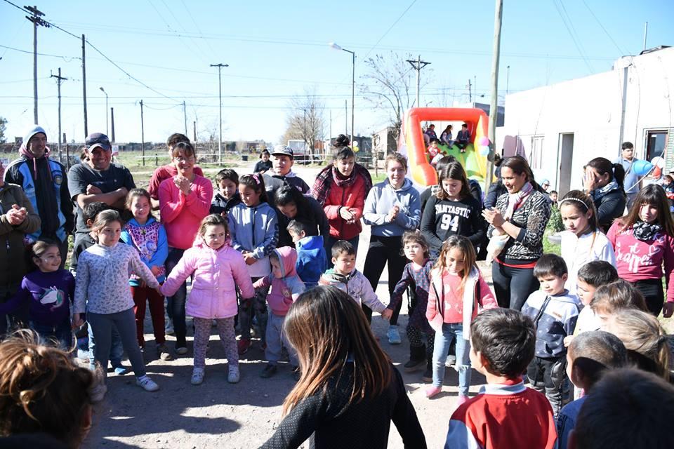 [Día de la Niñez] El Municipio en los barrios: Festejos en calle 76 y Rosetti