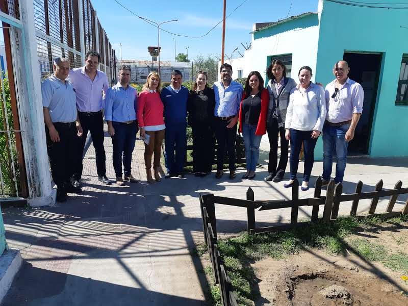 ATIADIM presente en la Unidad 13 de Junín en el marco del proyecto sustenstable que llevan adelante