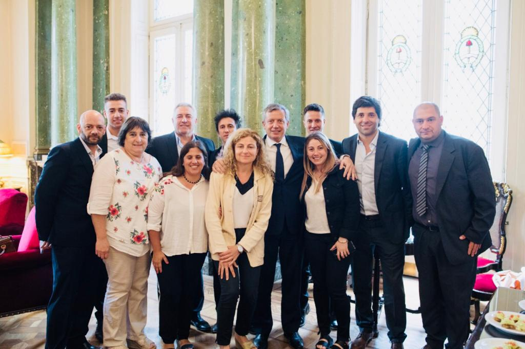 [Cambiemos Chivilcoy] García De Luca y equipo presente en la asunción de Monzó al frente de Diputados