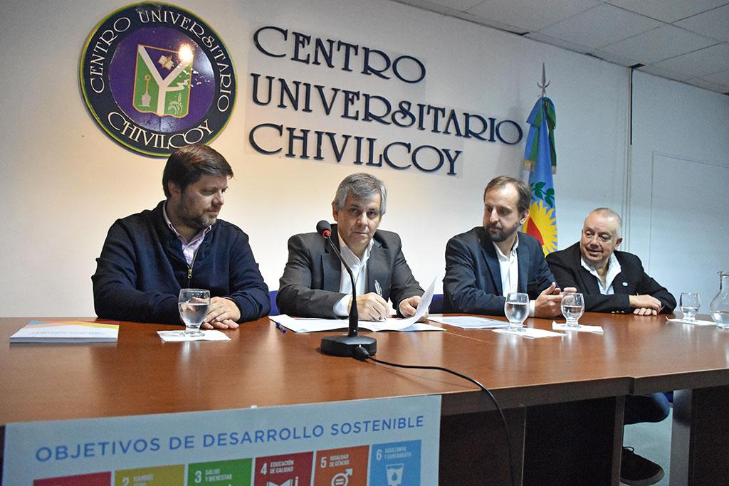 Chivilcoy firmó el Convenio de Cooperación para la implementación de la Agenda 2030 y los ODS