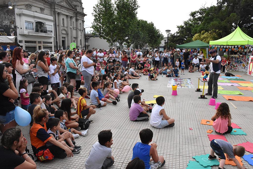 [Día de la Niñez] Gran convocatoria para la celebración organizada por la Dirección de Niñez, Adolescencia y Familia