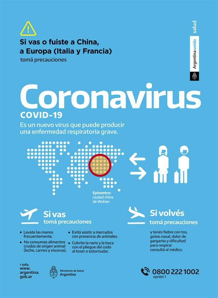 [APS Chivilcoy] Comunicado: Información sobre el coronavirus