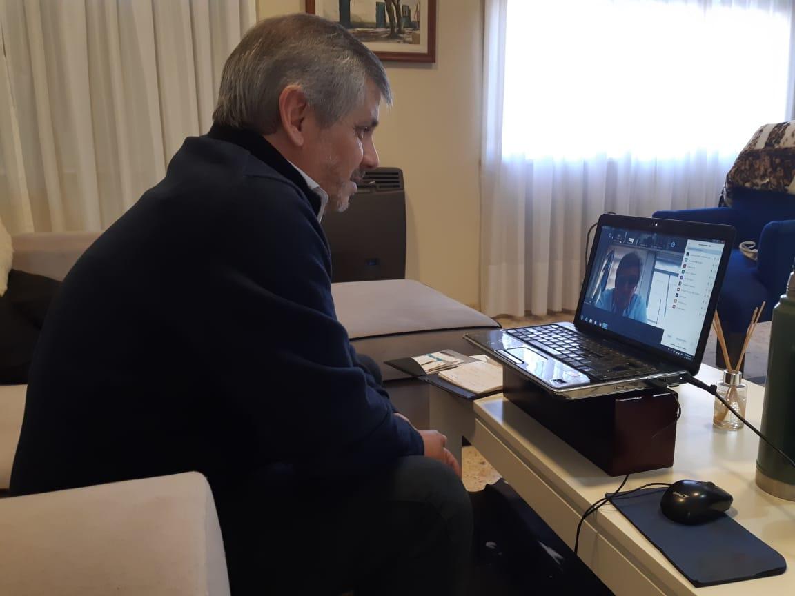 Chivilcoy presente en un encuentro virtual por políticas regionales para la disposición final de R.S.U. y equipamiento para los Municipios