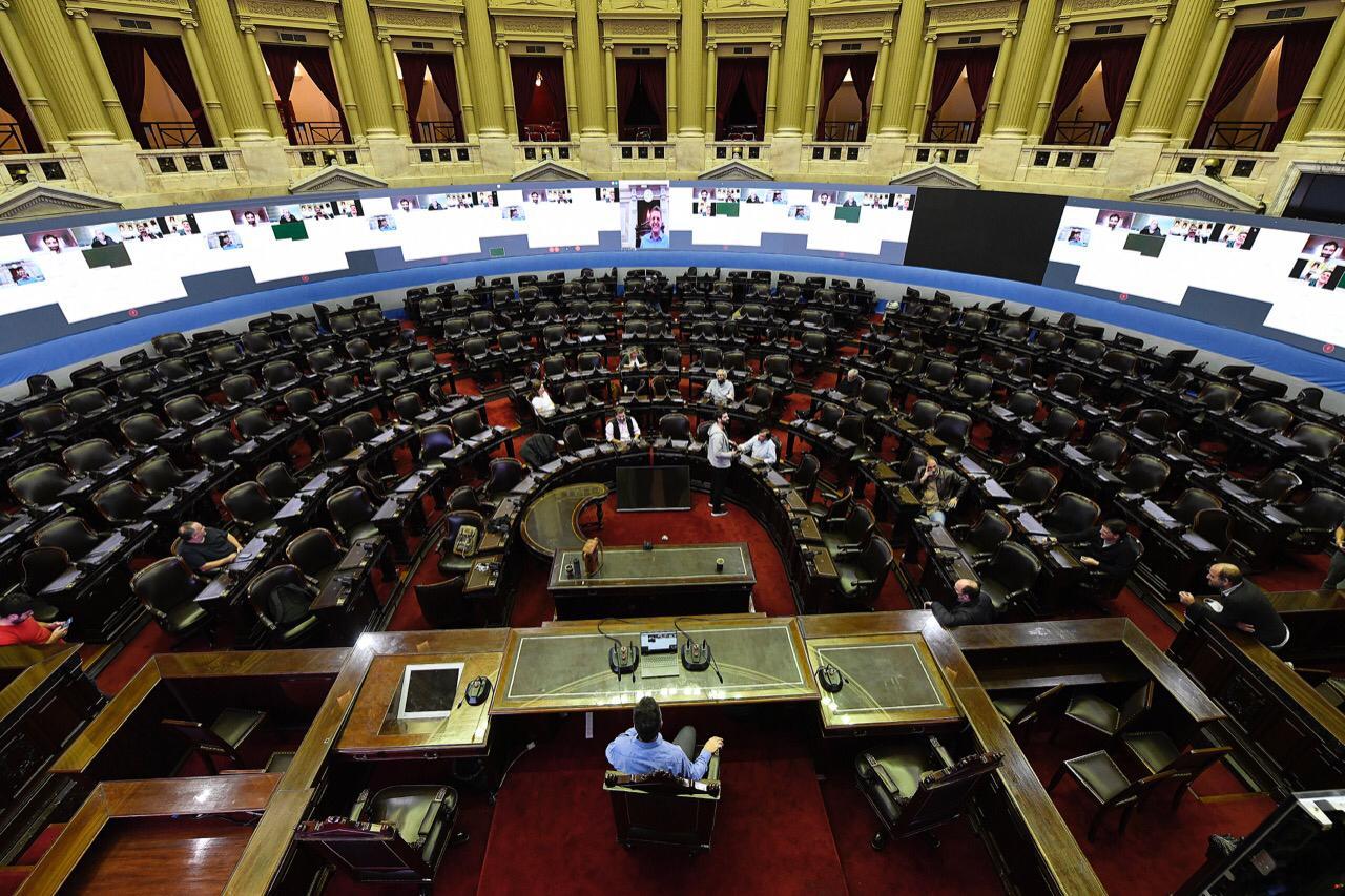 [Diputados] El Congreso se prepara para la primera sesión virtual de su historia