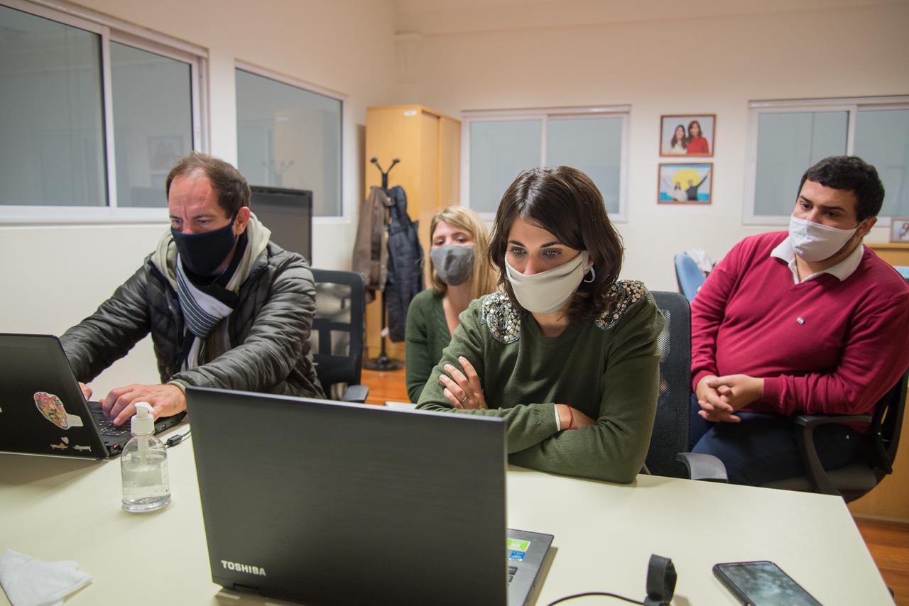 [Producción] Comercio e Industria: Reunión virtual entre funcionarios provinciales, municipales y concejales del Frente de Todos