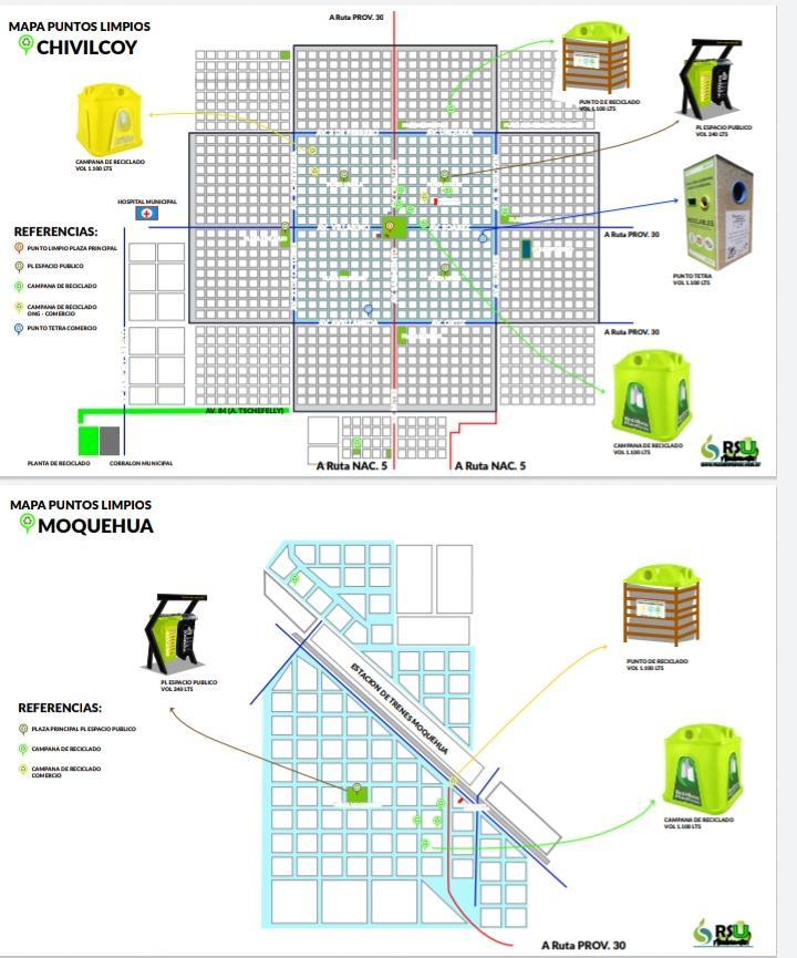 [Medio Ambiente] Puntos Limpios en Chivilcoy para la separación de residuos a través de Google Maps