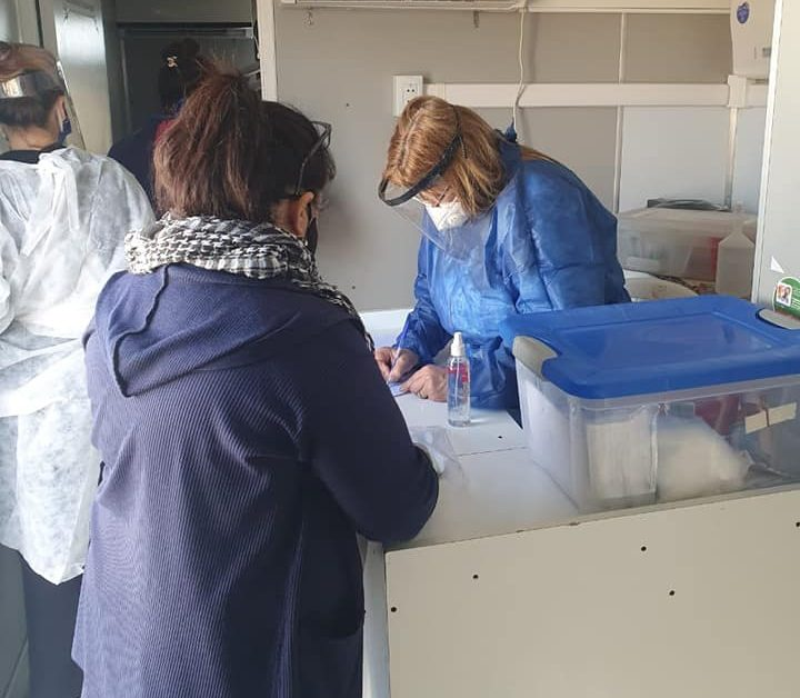[Barrio 25 de Mayo] APS y Casa Pueblo Chivilcoy continúan con las tareas de prevención y vacunación