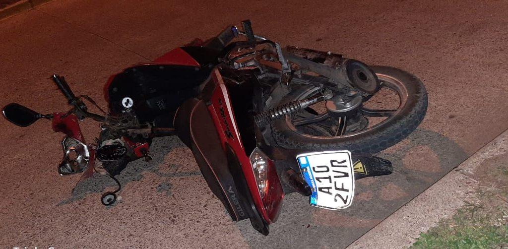 [Siniestro fatal] Joven de 15 años perdió la vida tras caer de una motocicleta