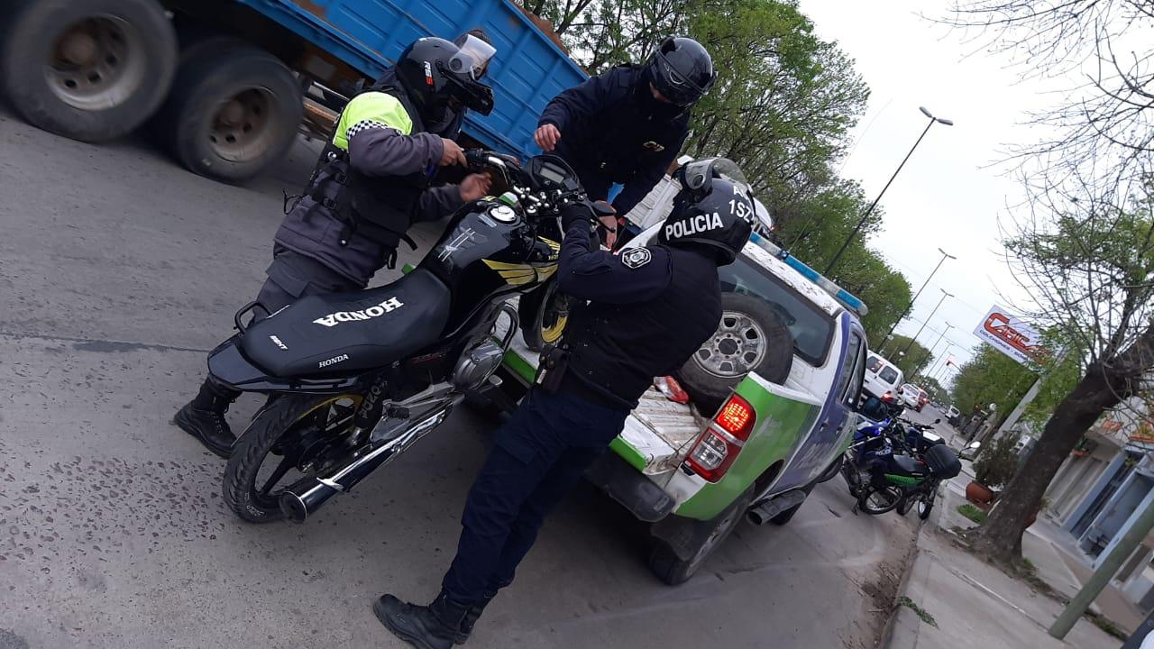 [Tránsito] Varias motos secuestradas conducidas por menores y con escape libre