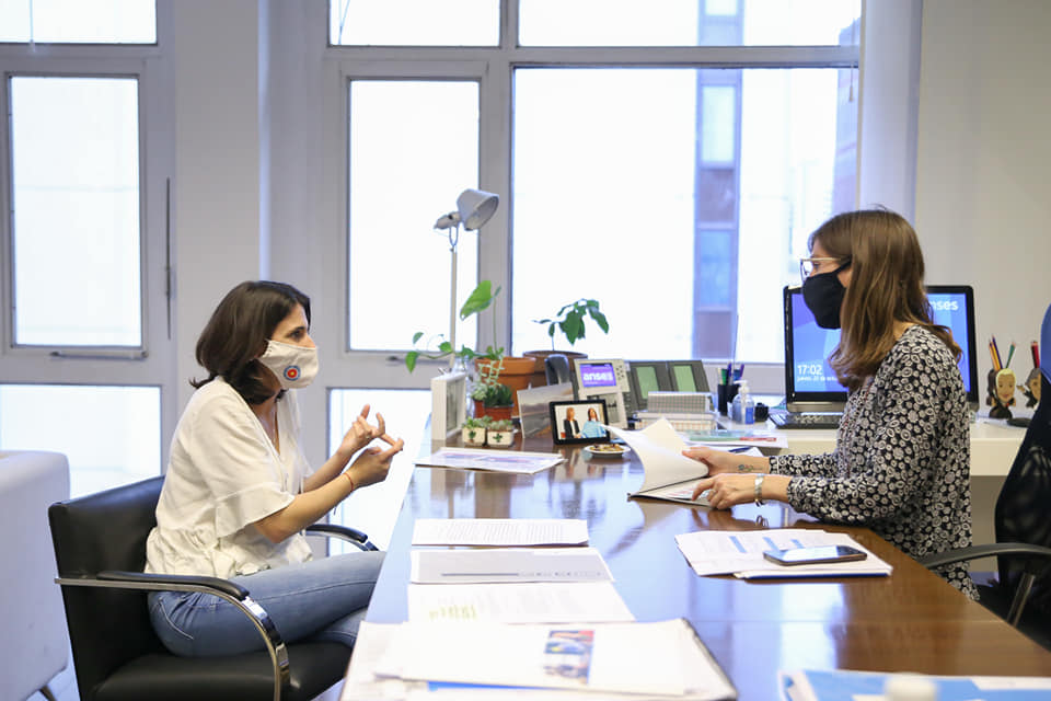 Constanza Alonso se reunió con la Directora de ANSES, Fernanda Raverta y confirmó un nuevo ATP