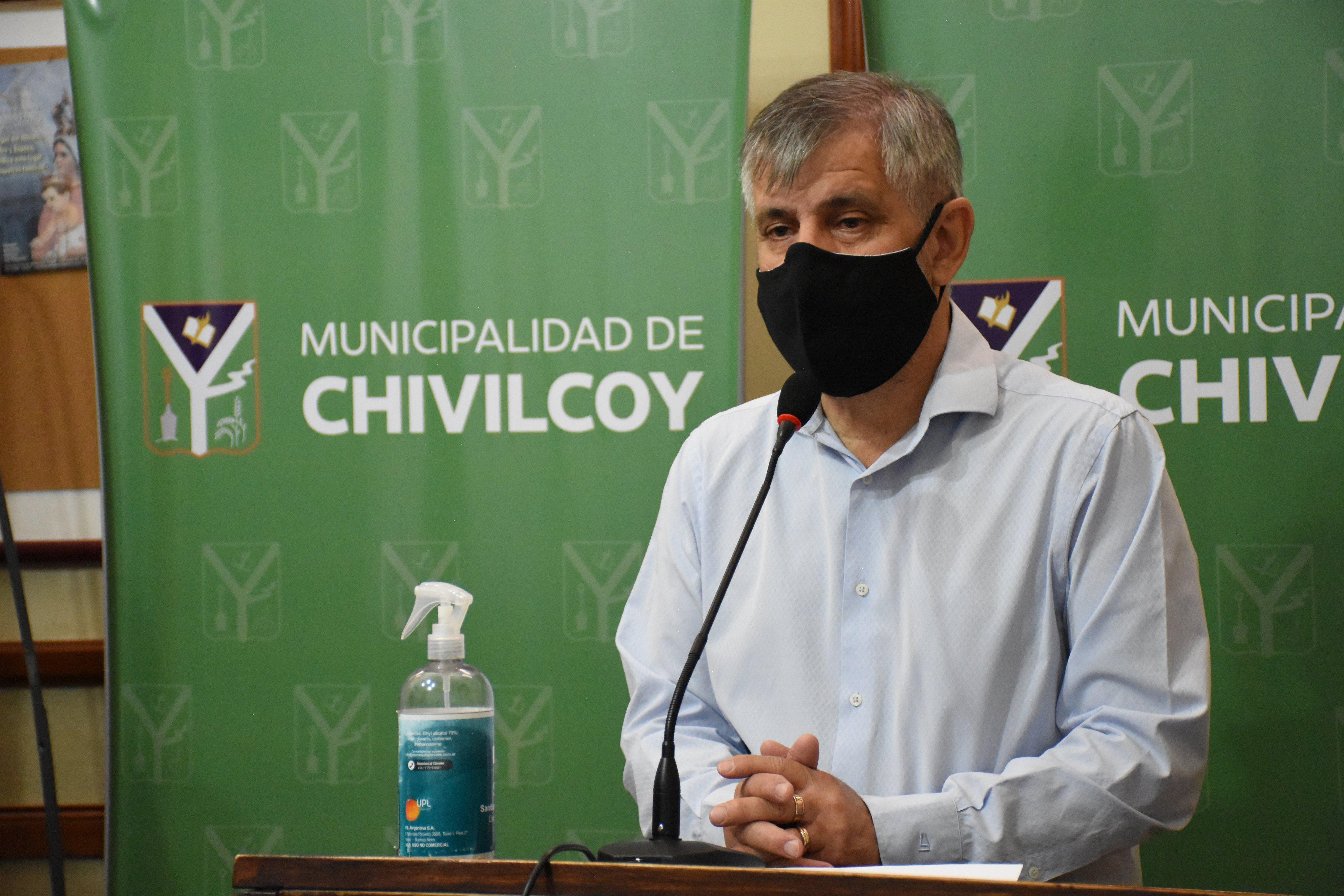 Intendente Britos: Empresas interesadas en radicarse en la nave municipal del Parque Industrial de Chivilcoy