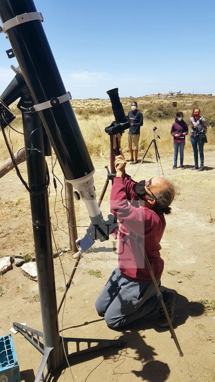 """[Eclipse] Prof. Armando Zandanel: """"Es uno de los espectáculos más bellos que nos regala la naturaleza"""""""