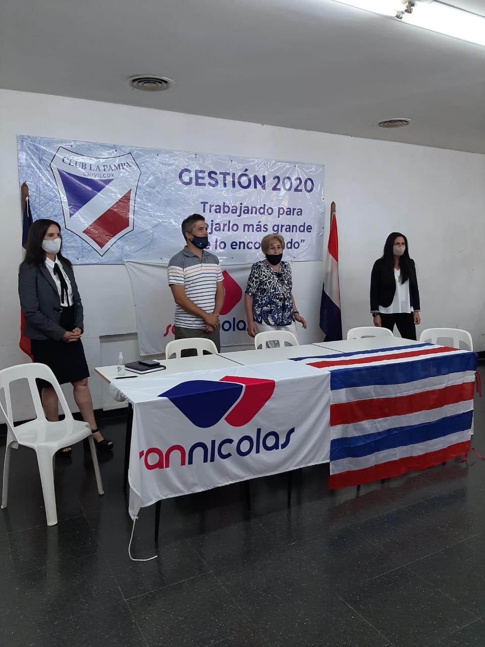 Importante acuerdo entre el club La Pampa y San Nicolás
