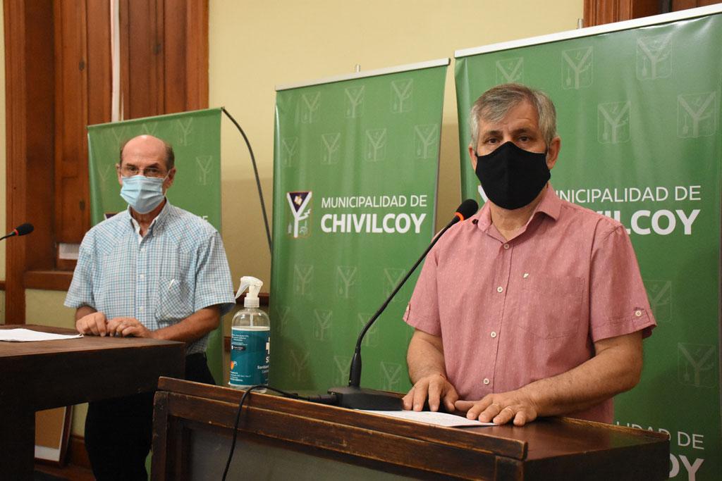 [Covid_19] 24 nuevos casos positivos en Chivilcoy y continúa la vacunación a agentes de salud