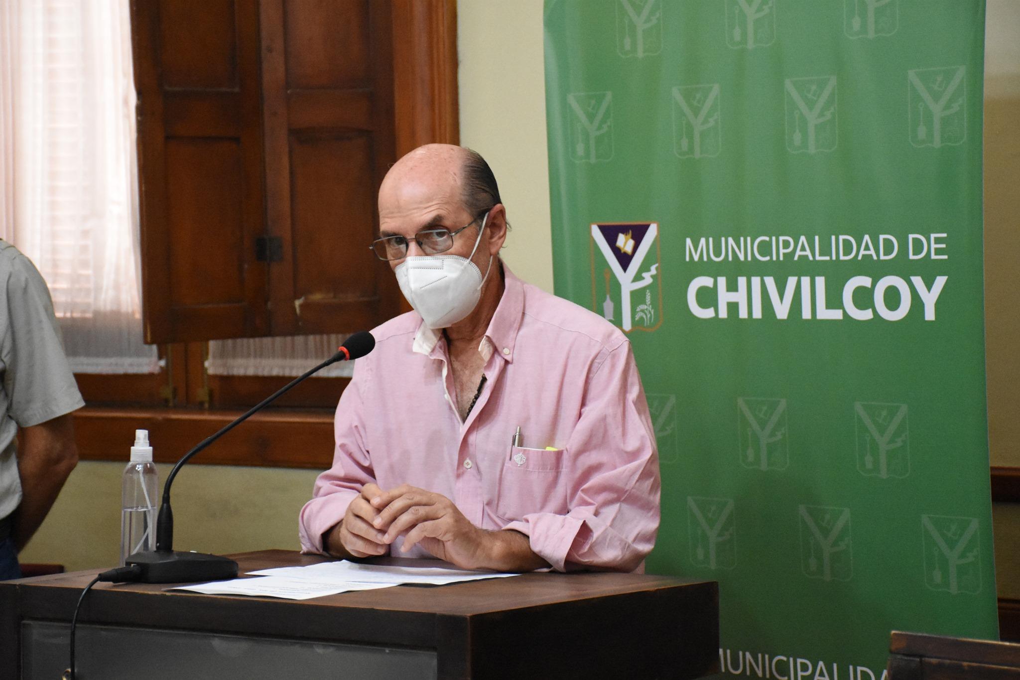 """[Dr. José Caprara] """"Apelamos a la cordura y concientización"""" pidió en resguardo al personal de salud"""