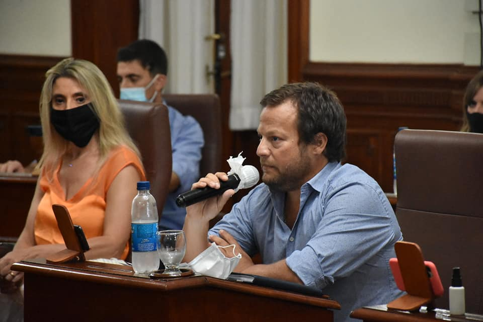 """[HCD] José Ferro: """"Ejerzamos nuestro rol legislativo con el desafío de ser autocríticos, sinceros y constructivos"""""""