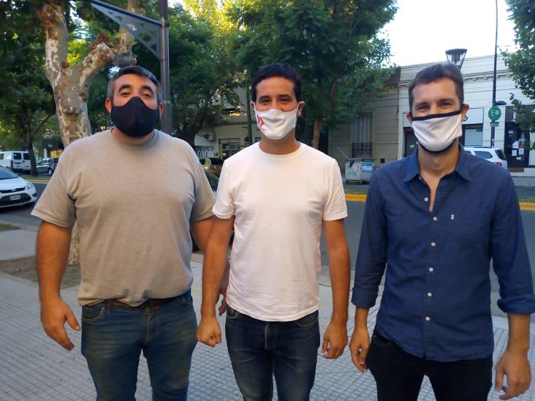 [Internas Radicales] Maxi Abad junto a Hourcastagne y Blanco en Chivilcoy