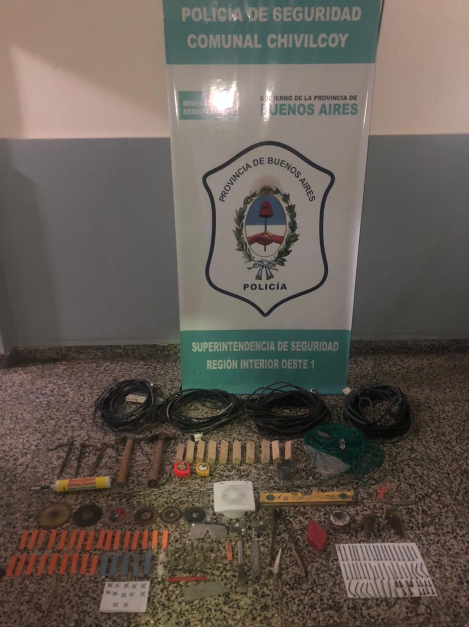 [Policía Comunal] Detenido con varios antecedentes por tentativa de robo en una obra en construcción