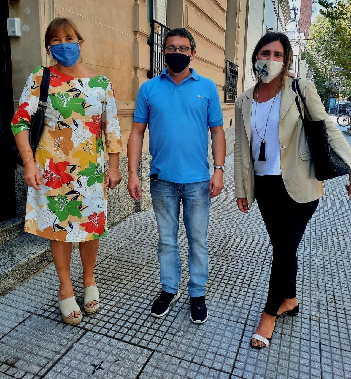 [PRO Chivilcoy] Sotera y Dominique recibieron al diputado Mauricio Vivani