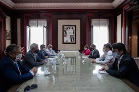 Kicillof y Costa recibieron a representantes de la industria para profundizar el trabajo conjunto