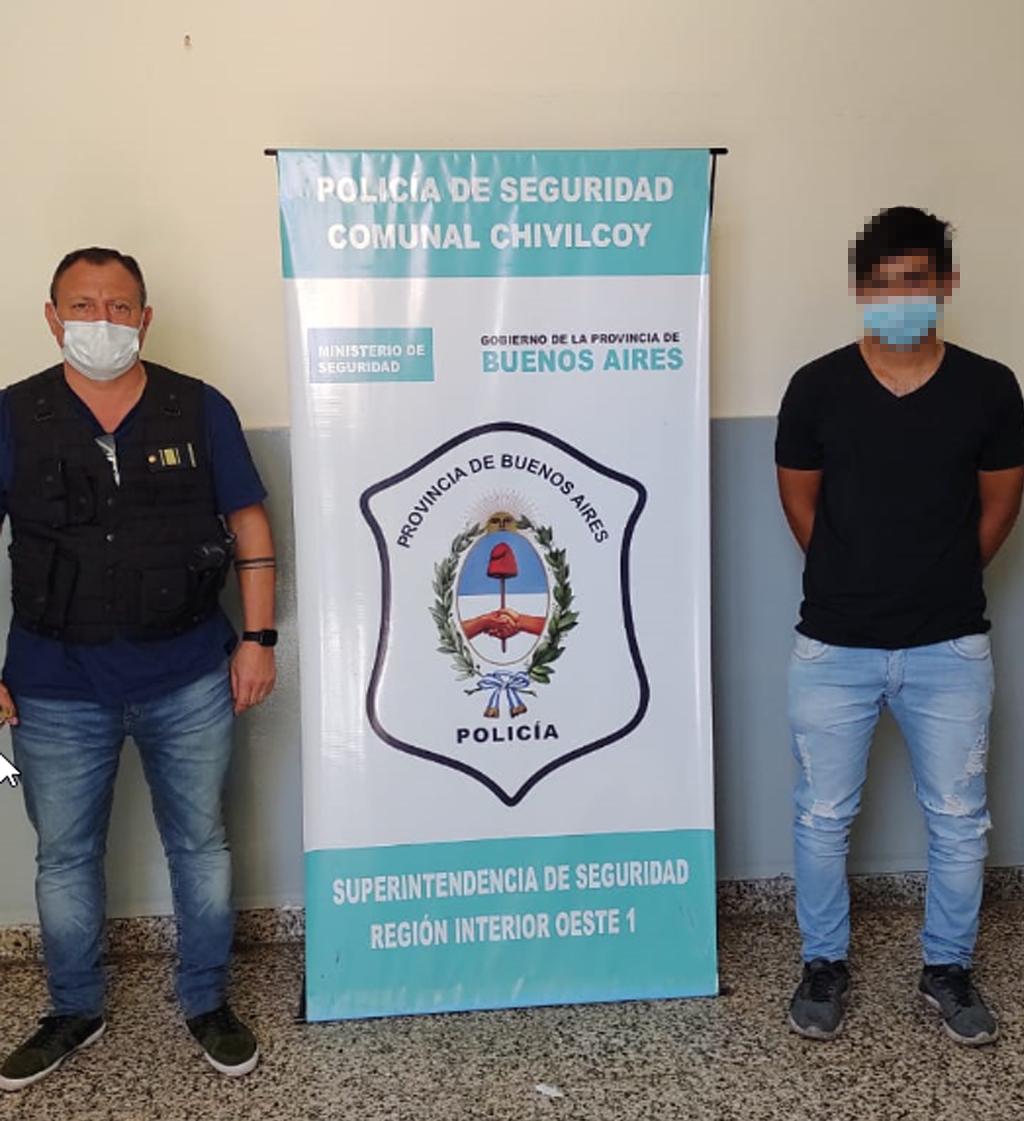 [Policiales] Detenido por abuso sexual agravado identificado como Nicolás Escobar