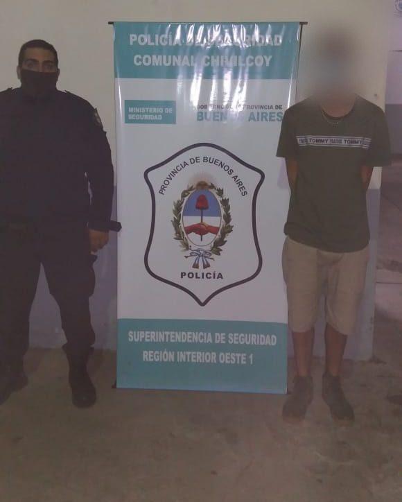 [Policiales] Detenido por desobediencia y violación de perímetro