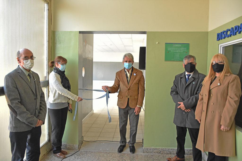[Salud Pública] Fueron inaugurados los consultorios externos del Hospital Municipal