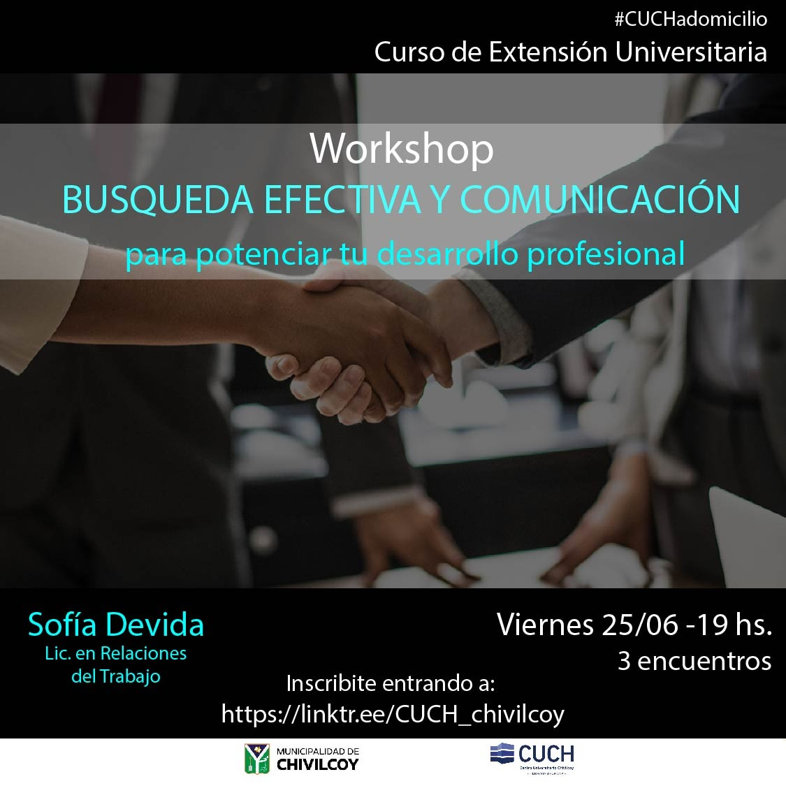 [Cuch a Domicilio] Talleres de Desarrollo Profesional y manejo de Excel.