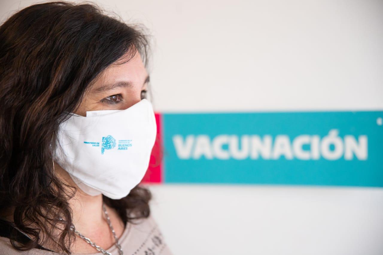 [Región Sanitaria X] Di Nápoli informó la vacunación libre para mayores de 45 años