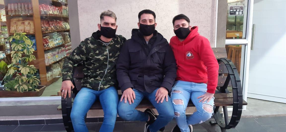 [Día de la Niñez] Cuatro amigos en una cruzada solidaria