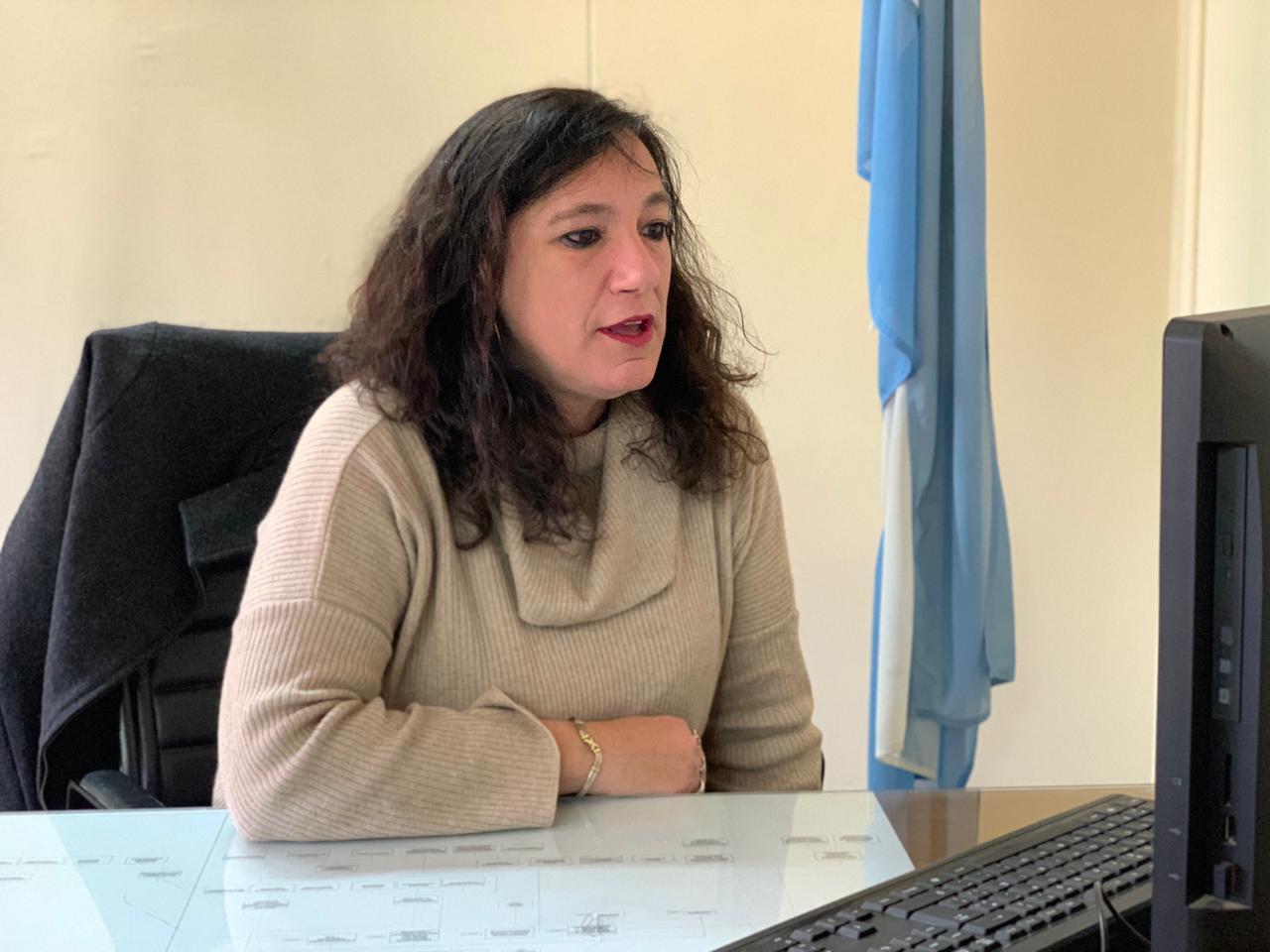 Carolina Di Nápoli encabezó un conversatorio destinado a todos los residentes del sistema de salud de la Provincia de Buenos Aires