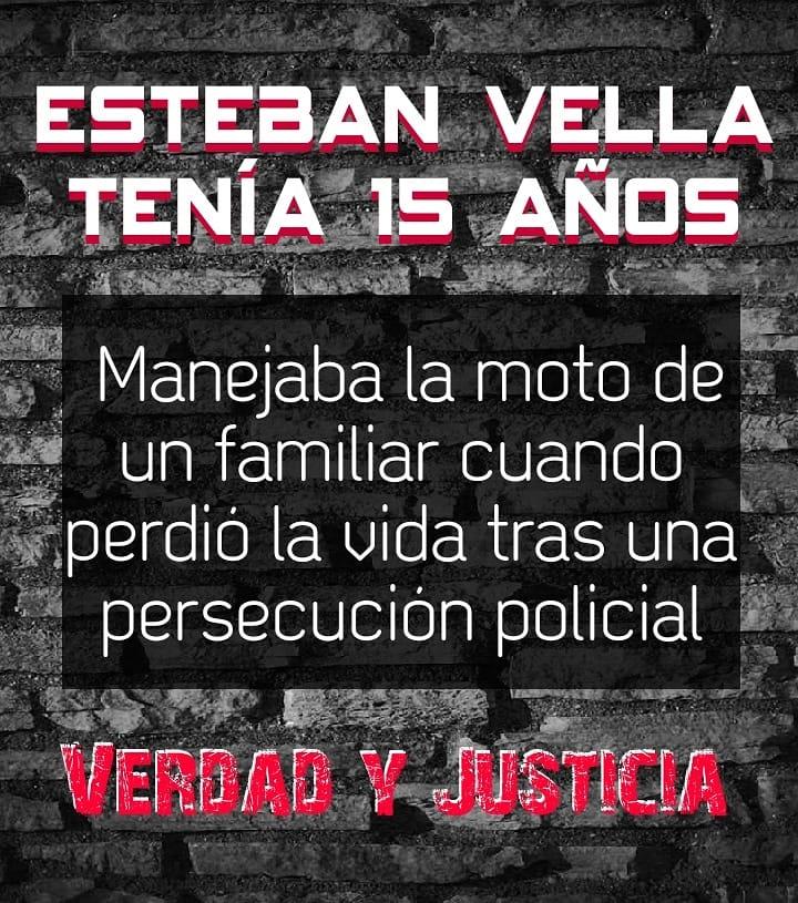 """[Comunicado] Colectivo """"No detengan nuestros derechos"""" sobre la muerte de Esteban Vella"""