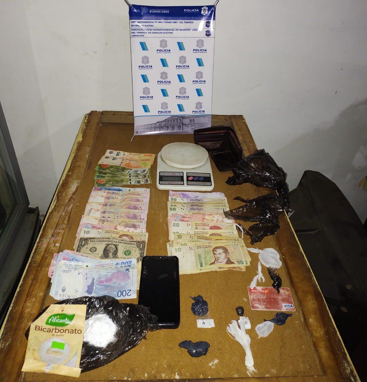 [En Bragado] Cinco allanamientos y detenciones por presunta comercialización de cocaína