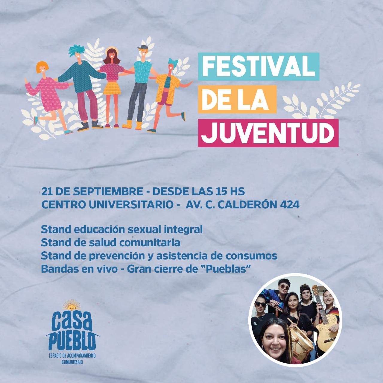 """[Hoy] """"Festival de la Juventud"""" en el Centro Universitario Chivilcoy"""