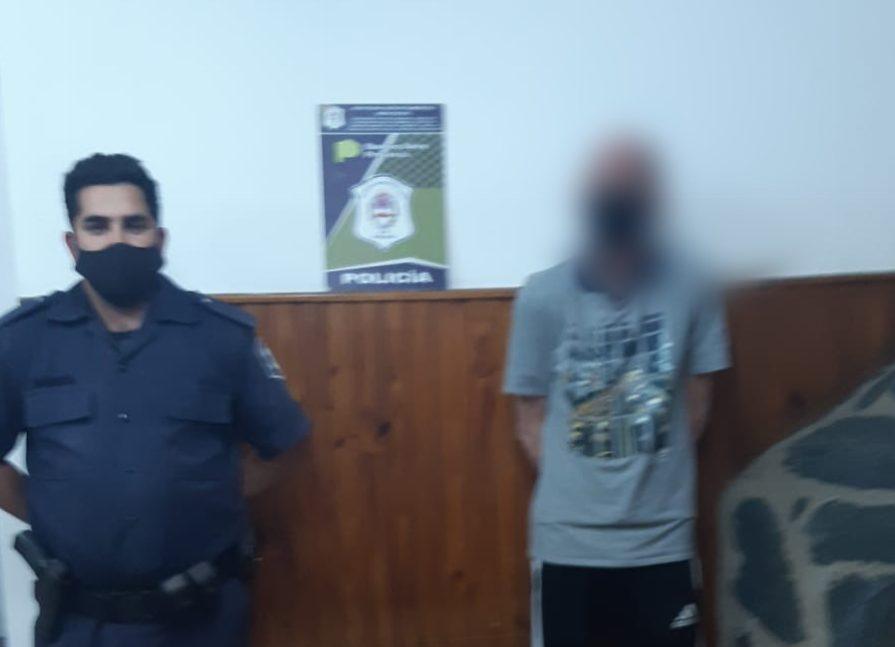 [Policiales] Violó el perímetro y amenazó al actual concubino de su ex pareja
