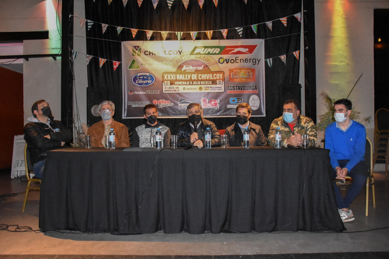 Presentación oficial de la edición 31° del Rally de Chivilcoy
