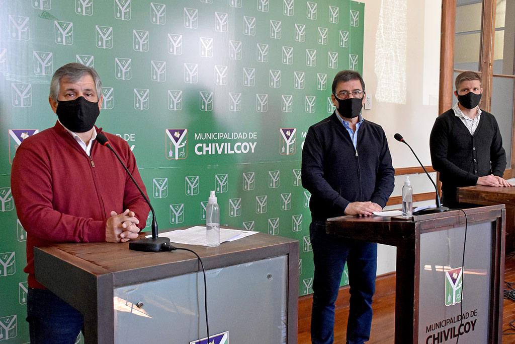 El intendente Guillermo Britos anunció que ya fue adjudicada la planta aceitera de Gorostiaga