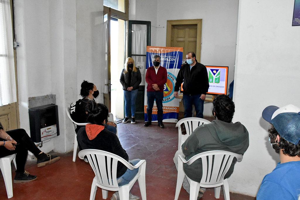 Inicio del Programa de Formación de voluntarios auxiliares de Defensa Civil en Ramón Biaus